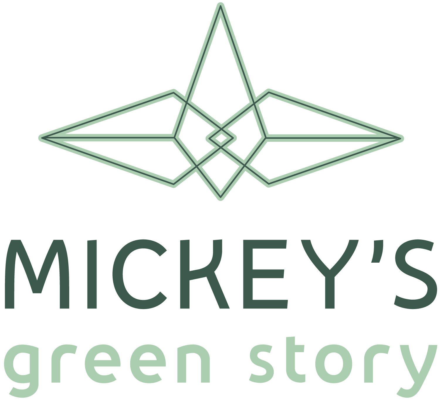 Mickey's Green Story Logo